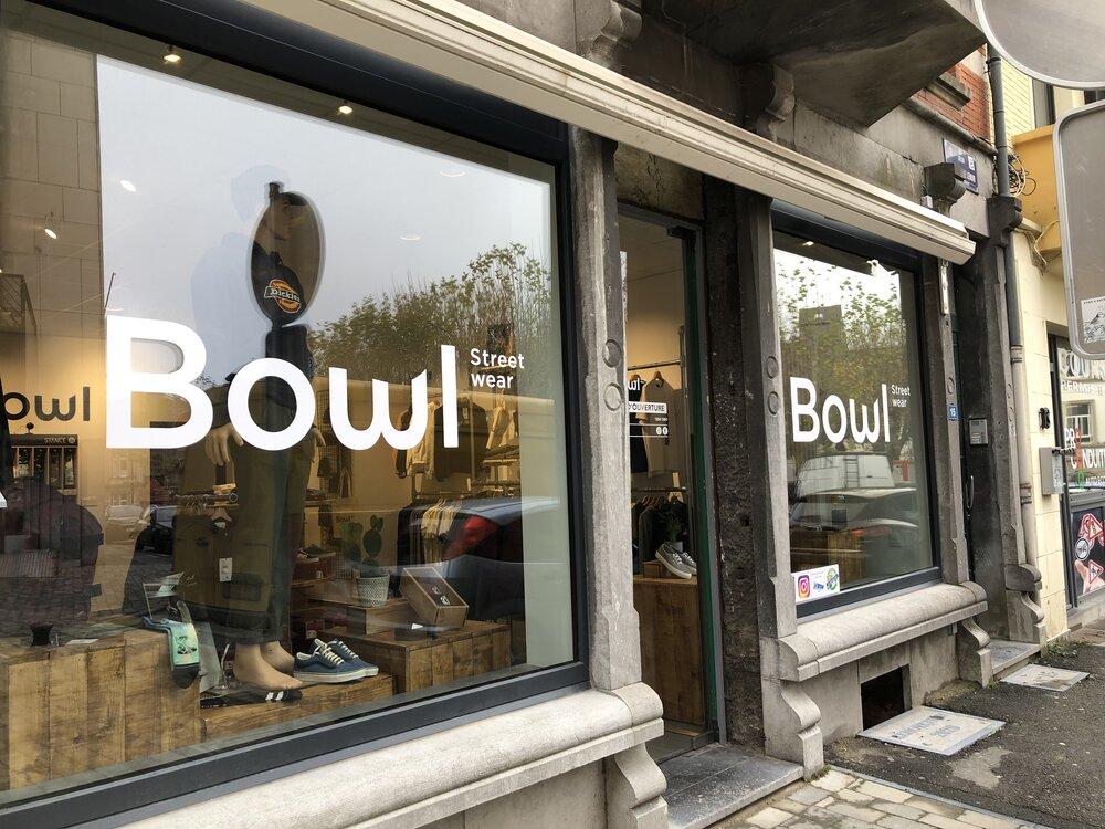 Devanture boutique Bowl