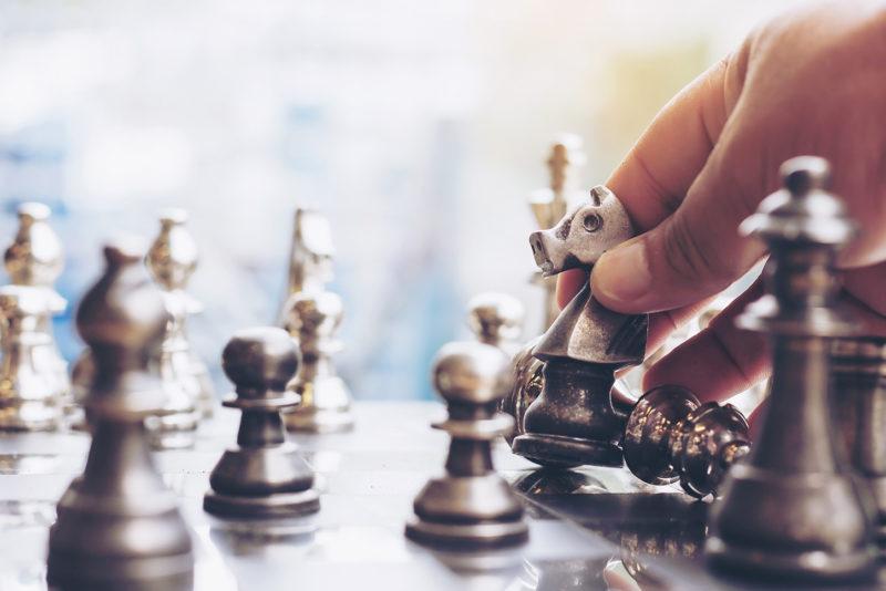 Représentation du jeux d'échecs