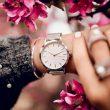 Changement de l'heure sur une montre